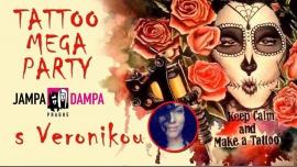 Tattoo Mega Party s tatérkou Veronikou à Prague le sam. 24 mars 2018 de 10h00 à 20h00 (Clubbing Gay Friendly, Lesbienne)