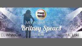 MegaStar Night with Britney Spears - MC Loki / DJ WhiteCat in Prague le Fri, October 13, 2017 from 10:00 pm to 06:00 am (Clubbing Gay Friendly)