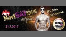 Hot NaviGAYtion Night - DJ WhiteCat in Prague le Fri, July 21, 2017 from 07:00 pm to 05:00 am (Clubbing Gay Friendly)