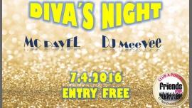 Divas´ Night - MC Pavel / DJ MeeVee en Praga le vie  7 de abril de 2017 19:00-06:00 (Clubbing Gay Friendly)