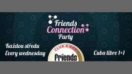 Friends Connection Party - MC Witek / DJ WhiteCat in Prag le Mi  4. April, 2018 19.00 bis 06.00 (Clubbing Gay Friendly)