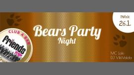 布拉格Bears night - MC Loki / DJ VikiValda2018年 9月26日,21:00(男同性恋友好 俱乐部/夜总会)