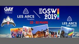 European Gay Ski Week 2019 / Les Arcs à Less Arcs du 23 au 30 mars 2019 (Festival Gay, Hétéro Friendly)