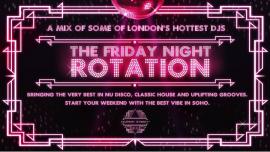 伦敦The Friday Night Rotation2019年 9月20日,21:00(男同性恋 演出)