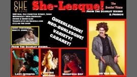 The Scarlet Vixens: She-Lesque! à Londres le mer. 28 février 2018 de 20h00 à 22h30 (After-Work Lesbienne)