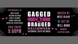 Gagged & Dragged: Halloween: Saturday 29th October in Manchester le Sat, October 29, 2016 from 09:00 pm to 02:00 am (Before Gay)