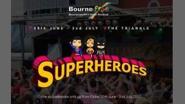 Bourne Free 2017 - Superheroes a Bournemouth dal 30 giugno- 2 luglio 2017 (Festival Gay, Lesbica, Trans, Bi)