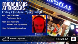 Friday Bears feat Shanobear in Sydney le Fri, June 21, 2019 from 07:00 pm to 12:00 am (After-Work Gay, Bear, Bi)