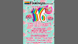 Flams Sweet16th Birthday: The RED Party! in Hobart le Sat, August 24, 2019 at 10:00 pm (Clubbing Gay, Lesbian)