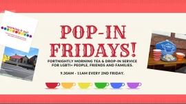 Pop-In Fridays! - Hobart à Hobart le ven.  3 avril 2020 de 09h30 à 11h00 (Rencontres / Débats Gay, Lesbienne, Trans, Bi)