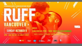 RUFF Vancouver with GingerBear, Mike Sniffen in Vancouver le Sun, October  9, 2016 from 09:00 pm to 02:00 am (Clubbing Gay)