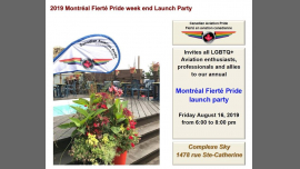 YUL CAP Fierté 2019 Pride Launch Party in Montreal le Fri, August 16, 2019 from 06:00 pm to 08:00 pm (After-Work Gay)
