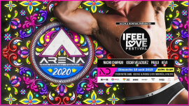 I Feel Love Festival: ARENA Festival pre-party in Montreal le Sun, August 18, 2019 from 10:00 pm to 10:00 am (Clubbing Gay, Lesbian)