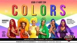 Fierté Canada Montréal 2017 - Colors in Montréal le Do 17. August, 2017 23.00 bis 02.00 (Vorstellung Gay, Lesbierin)