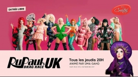 Rupaul's Drag Race UK au Cocktail in Montreal le Thu, December 19, 2019 from 08:00 pm to 09:00 pm (After-Work Gay, Lesbian)