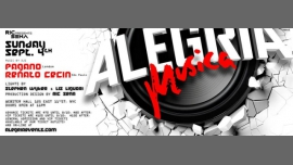 Alegria Musica à New York le dim.  4 septembre 2016 à 23h00 (Clubbing Gay)