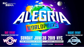 Alegria WorldPride 2019 in New York le Sun, June 30, 2019 from 05:00 pm to 07:00 am (Clubbing Gay)