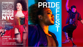 PrideFest: WorldPride 2019 | Stonewall 50 in New York le Sun, June 30, 2019 from 11:00 am to 06:00 pm (Festival Gay, Lesbian)