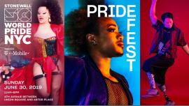 纽约PrideFest: WorldPride 2019 | Stonewall 502019年11月30日,11:00(男同性恋, 女同性恋 节日)