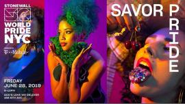 纽约Savor Pride: WorldPride 2019 | Stonewall 502019年 6月28日,18:00(男同性恋, 女同性恋 集资)