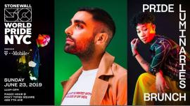 纽约Pride Luminaries Brunch: WorldPride 2019 | Stonewall 502019年11月23日,11:00(男同性恋, 女同性恋 早午餐)