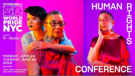 Human Rights Conference: WorldPride 2019 | Stonewall 50 à New York le lun. 24 juin 2019 de 09h00 à 17h00 (Rencontres / Débats Gay, Lesbienne)
