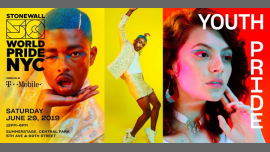 Youth Pride: WorldPride 2019 | Stonewall 50 in New York le Sat, June 29, 2019 from 12:00 pm to 06:00 pm (Festival Gay, Lesbian)