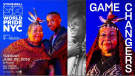 GameChangers: WorldPride 2019 | Stonewall 50 in New York le Tue, June 25, 2019 from 06:00 pm to 10:00 pm (Meetings / Discussions Gay, Lesbian)