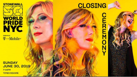 WorldPride Closing Ceremony: WorldPride 2019 | Stonewall 50 à New York le dim. 30 juin 2019 de 19h00 à 22h00 (Cérémonies Gay, Lesbienne)