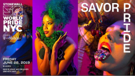 Savor Pride: WorldPride 2019 | Stonewall 50 in New York le Fri, June 28, 2019 from 06:00 pm to 10:00 pm (Fund raising Gay, Lesbian)