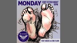 纽约Foot Fetish Mondays2020年10月24日,22:00(男同性恋 俱乐部/夜总会)