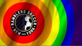 纽约Ramblers NYC Pride March2017年12月25日,12:30(男同性恋, 异性恋友好, 双性恋 游行)