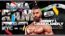 MEGA RAM Party - World NYC 2019 Pride in New York le Fr 28. Juni, 2019 22.00 bis 04.00 (Clubbing Gay)