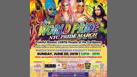 WorldPride 2019 - March with Caribbean Equality Project in New York le Sun, June 30, 2019 from 11:00 am to 05:00 pm (Parades Gay, Lesbian, Trans, Bi)