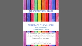 20 Somethings Group in Sacramento le Thu, February 27, 2020 from 07:30 pm to 08:30 pm (Meetings / Discussions Gay, Lesbian, Trans, Bi)