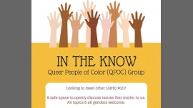 In the Know QPOC Group in Sacramento le Fri, July 10, 2020 from 06:00 pm to 07:30 pm (Meetings / Discussions Gay, Lesbian, Trans, Bi)
