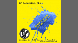 San FranciscoSF Eagle Open Mic2019年 6月15日,18:00(男同性恋, 熊 俱乐部/夜总会)