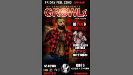GROWLr Lumberjack Edition with DJ Phil B à San Francisco le ven. 22 février 2019 de 21h00 à 02h00 (Clubbing Gay, Bear)