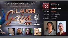 San FranciscoLaugh Your Gays Off - Free Comedy in The Castro!2019年 8月20日,20:00(男同性恋 演出)