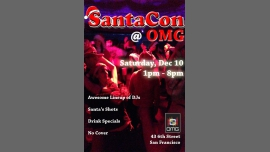 Santacon at OMG: Official Santacon SF party à San Francisco le sam. 10 décembre 2016 de 13h00 à 20h00 (Before Gay Friendly)