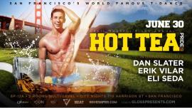 Hot Tea 3rd Annual Pride T-Dance à San Francisco le dim. 30 juin 2019 de 18h00 à 00h00 (After-Work Gay)