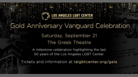 Gold Anniversary Vanguard Celebration in Los Angeles le Sat, September 21, 2019 from 04:00 pm to 11:00 pm (Meetings / Discussions Gay, Lesbian)