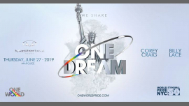 One Dream: WorldPride NYC Opening Event in New York le Thu, June 27, 2019 from 10:00 pm to 04:00 am (Clubbing Gay Friendly)
