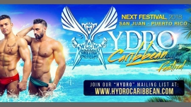 ♬ ACTION! at 2018 Hydro Caribbean Festival à San Juan du 16 au 19 mars 2018 (After Gay)