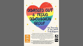 San DiegoDisabled OUT & Proud Discussion Group2019年 7月25日,19:00(男同性恋, 女同性恋 见面会/辩论)