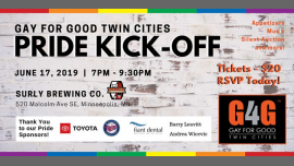 G4G Twin Cities Pride Kickoff Event in Minneapolis le Mon, June 17, 2019 from 07:00 pm to 09:30 pm (Meetings / Discussions Gay, Lesbian, Trans, Bi)
