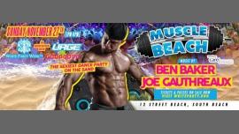 Muscle Beach Party à Miami le dim. 27 novembre 2016 de 13h00 à 21h00 (Clubbing Gay)