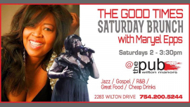 Good Times Saturday Jazz Brunch / Maryel Epps in Wilton Manors le Sat, August 31, 2019 from 02:00 pm to 03:30 pm (Brunch Gay)