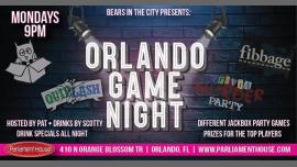 Orlando Game Night en Orlando le lun 19 de agosto de 2019 21:00-00:00 (After-Work Gay, Oso)