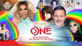 We Are One - An Extravaganza for Diversity & Inclusion Benefit! in Orlando le Do 30. Mai, 2019 19.00 bis 02.00 (Vorstellung Gay, Lesbierin, Transsexuell, Bi)